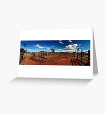 Stockyards Greeting Card