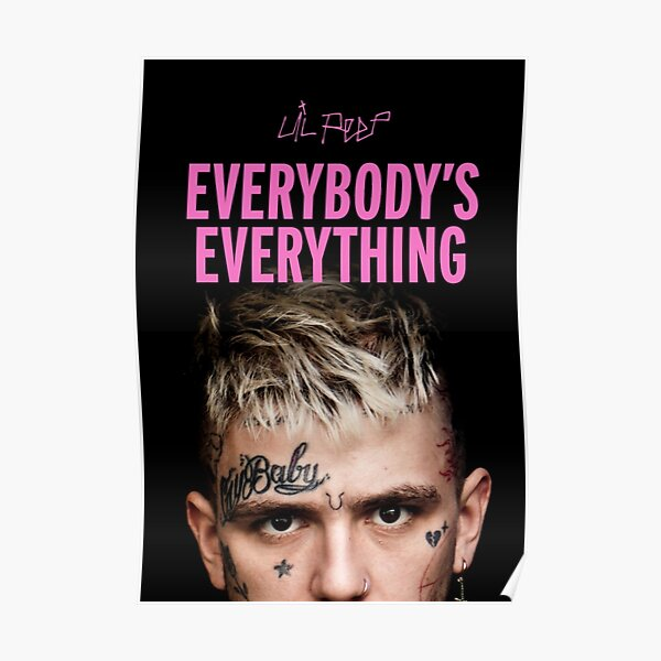 lil peep everybody's everything  Poster