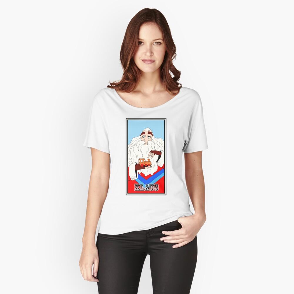 T-shirt coupe relax «Klaus fanart»