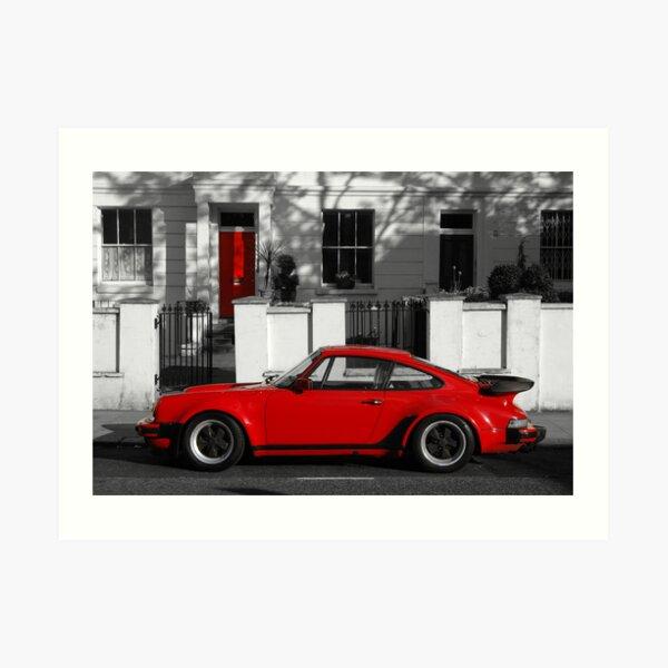 Red Door vs Turbo Art Print
