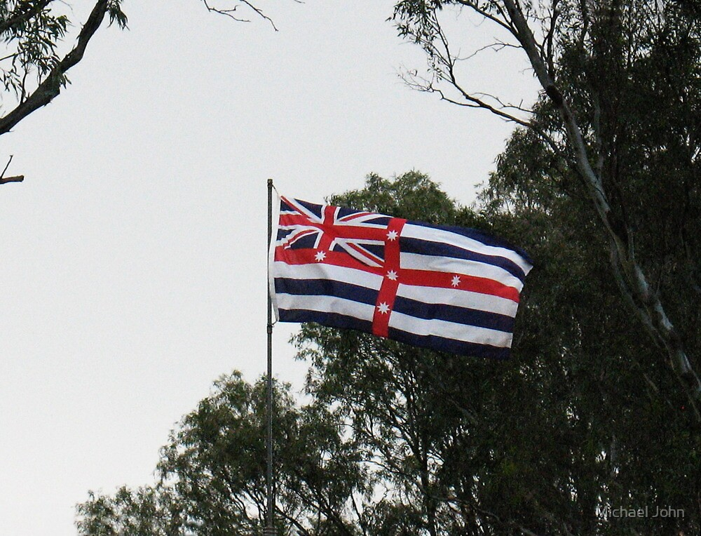 An Unusual Australian Flag by Michael John