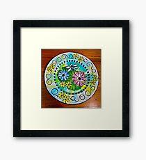 Waterlily Wonderland Framed Print
