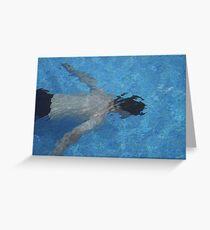 Ode to David Hockney Greeting Card