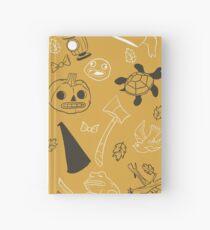 Cuaderno de tapa dura Sobre el patrón de la pared del jardín