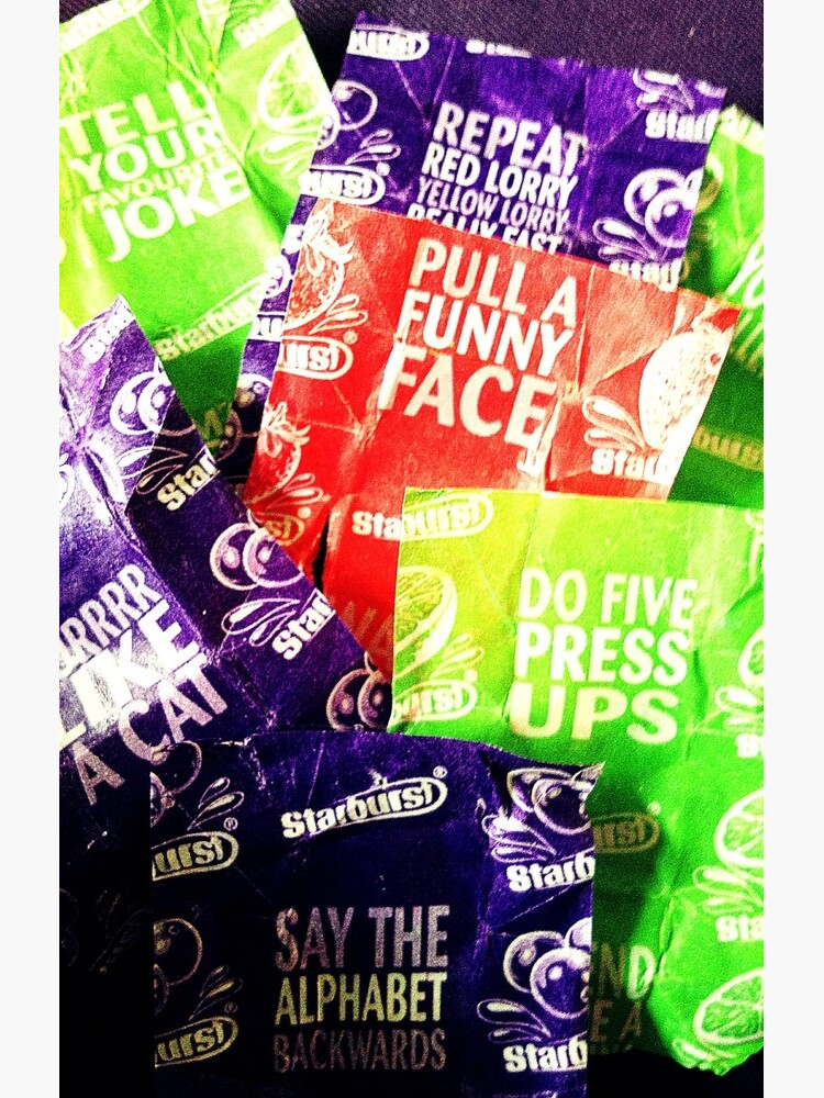 Starburst wrappers by robsteadman