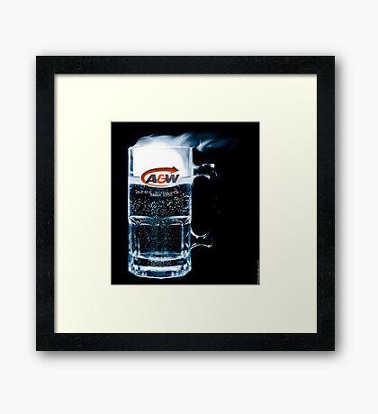 A&W Framed Print