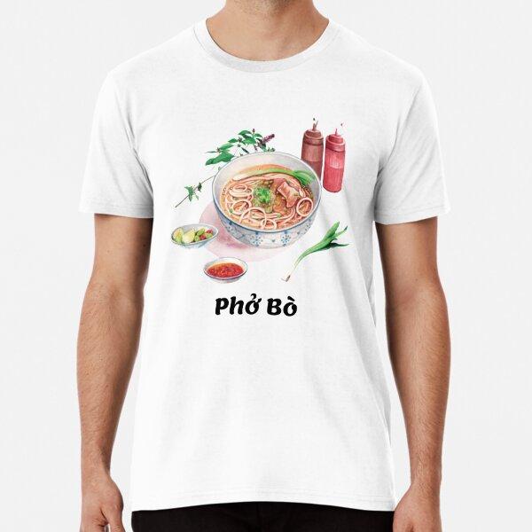 Phở Bò Vietnamese beef noodle soup Premium T-Shirt