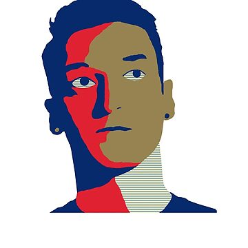 Mesut Özil 13/14 Home palette by ecimino