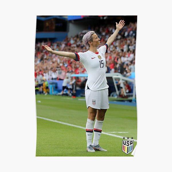 Megan Rapinoe Goal vs France Getty Poster