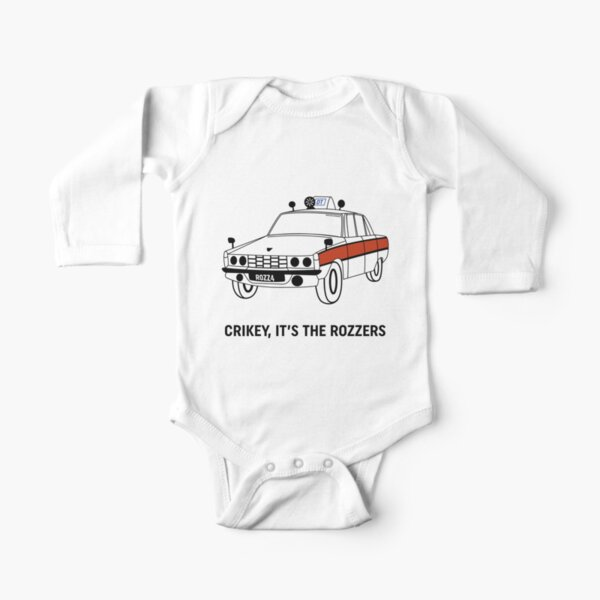James May's Rozzers Design Long Sleeve Baby One-Piece