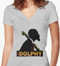 Eric Dolphy T-Shirt Women's Fitted V-Neck T-Shirt