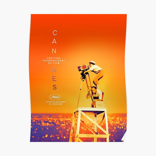 72nd Cannes Film Festival Poster 2019 - Agnes Varda Poster