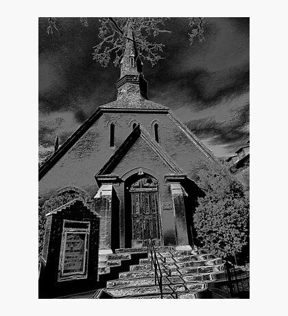 Dark as Night Photographic Print