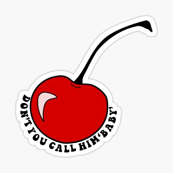 Cherry Lyric HS Sticker
