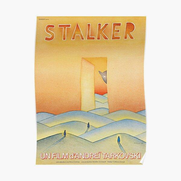 Stalker (1979) Andrei Tarkovsky Vintage Film Poster Art Poster