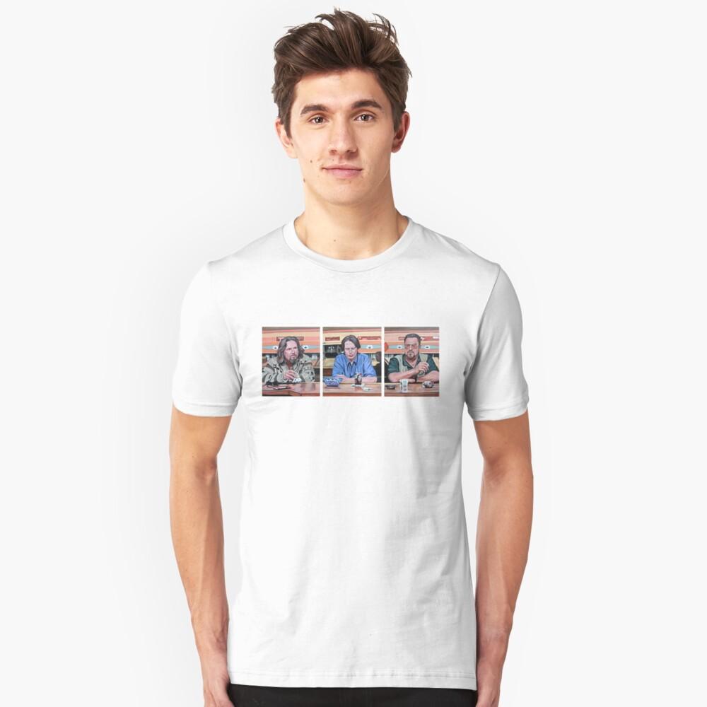 Lebowski Triptych Unisex T-Shirt Front