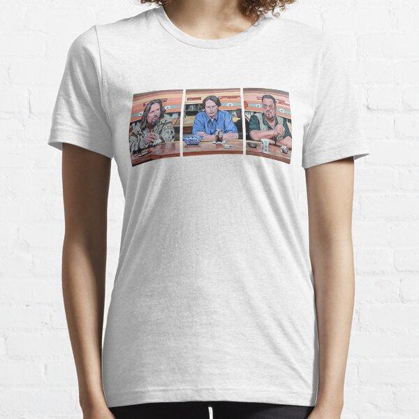 Lebowski Triptych Essential T-Shirt