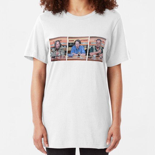 Lebowski Triptych Slim Fit T-Shirt