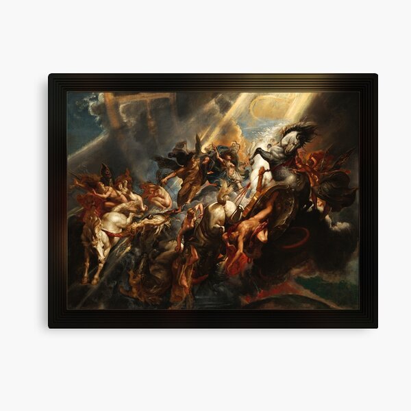 The Fall of Phaeton by Peter Paul Rubens Old Masters Reproductions Canvas Print