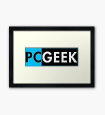 Pc Geek Framed Print