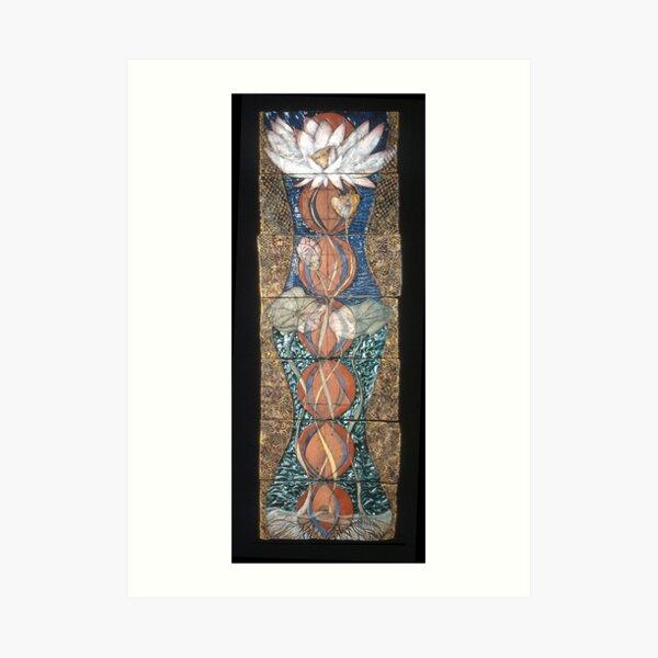 Lotus III: caduceus rising Art Print