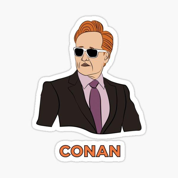 Conan - Conan O'Brien Sticker