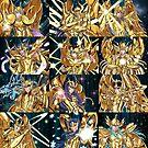 Saint Seiya Poster by Studiokawaii