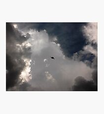 Through the Storm Dragon Photographic Print