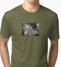 Through the Storm Dragon Tri-blend T-Shirt