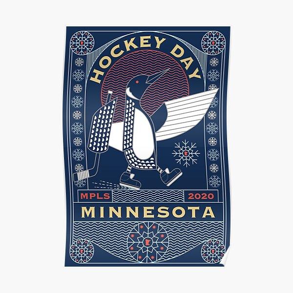 Hockey Day Minnesota Poster