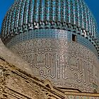 Gur Emir - Samarkand by Nigel Fletcher-Jones