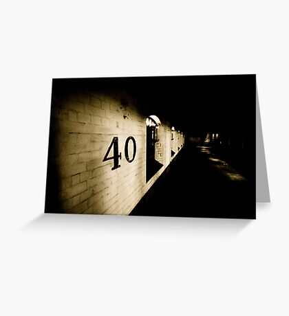 40 Greeting Card