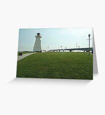 Lighthouse at Confederation Bridge Greeting Card