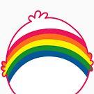 Rainbow CareBear by Omar Feliciano