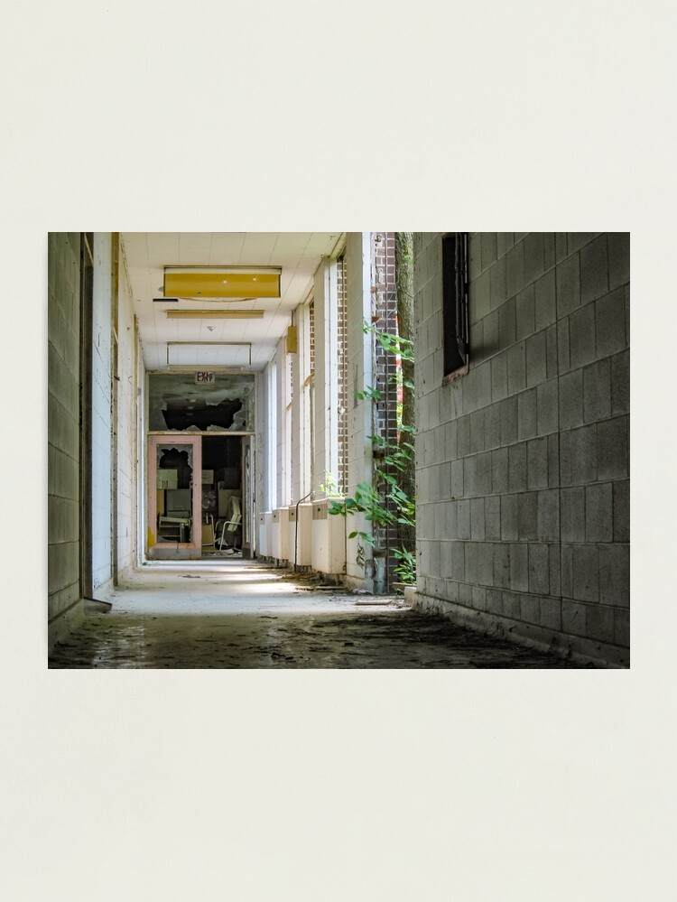 Alternate view of Exit With Windows To Courtyard Photographic Print