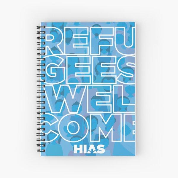 HIAS Refugees Welcome Notebook Spiral Notebook