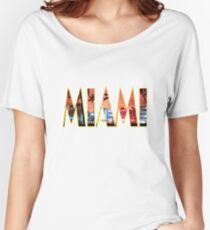 Miami Women's Relaxed Fit T-Shirt
