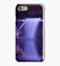 Waterfall - Durham Lumiere Festival iPhone Case/Skin