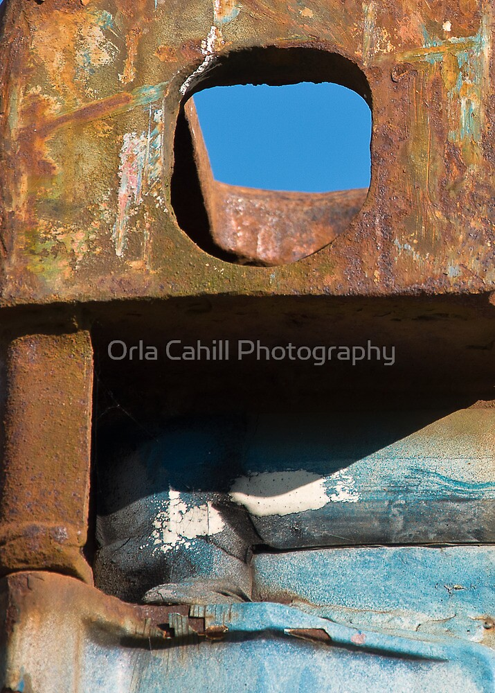 Rusty Sky View by Orla Cahill Photography