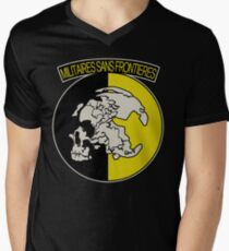 Militaires Sans Frontières Men's V-Neck T-Shirt