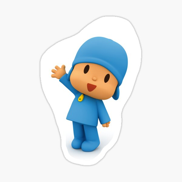 Stickers pocoyo for your kids room Sticker