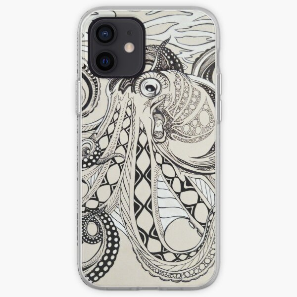 Hank the Octopus iPhone Soft Case