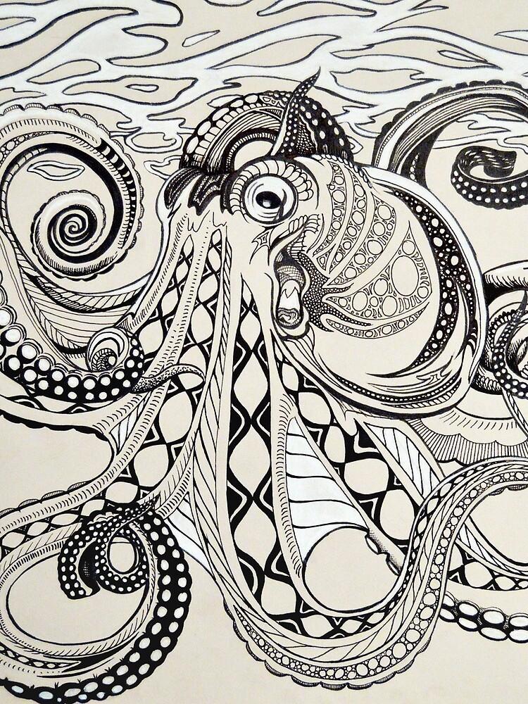 Hank the Octopus by Kristina-Thalin