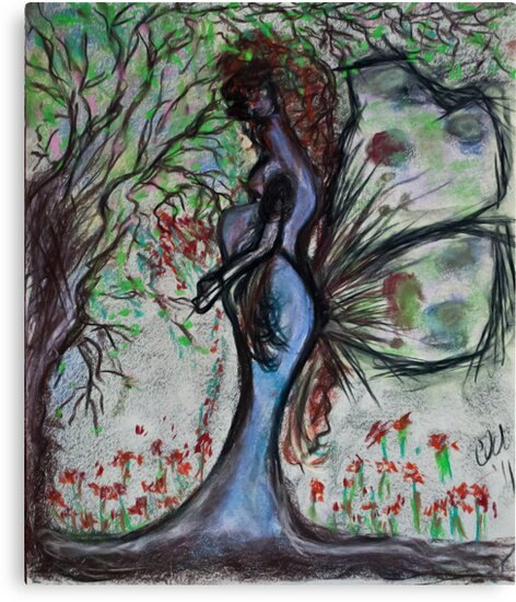 Mother Earth Gaia by C. Rodriguez
