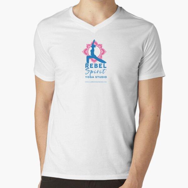 Rebel Spirit Yoga Studio V-Neck T-Shirt