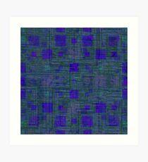 AztecoCamo 08 Art Print