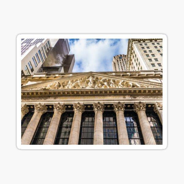New York Stock Exchange Sticker