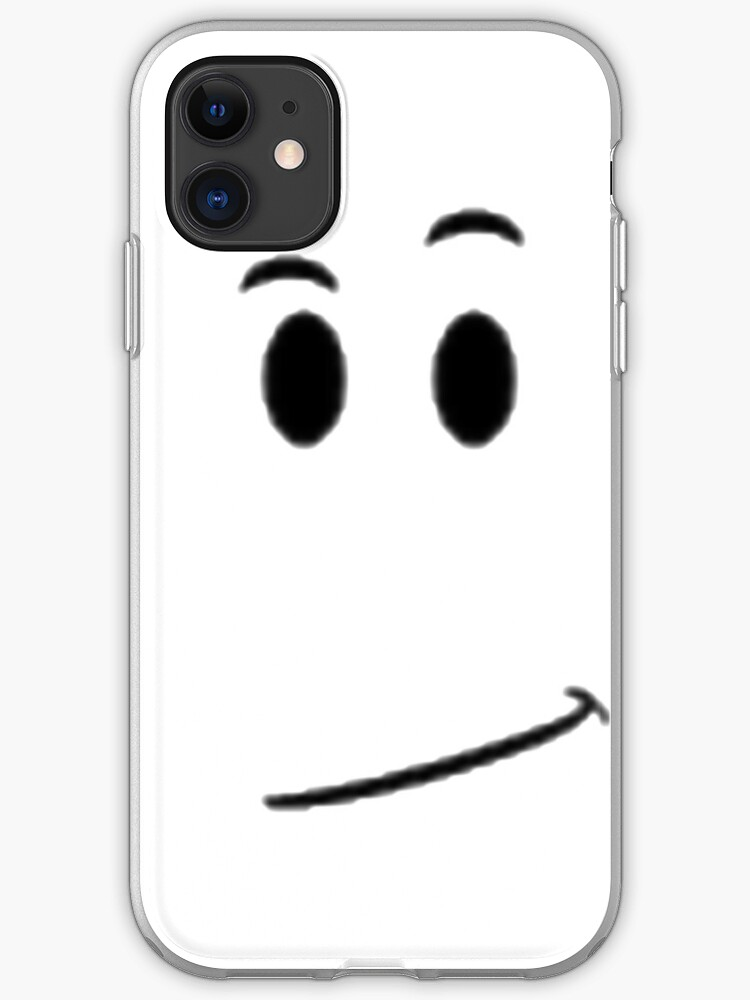 Roblox Avatar Face Roblox Face Avatar Smile Iphone Case Cover By Best5trading Redbubble
