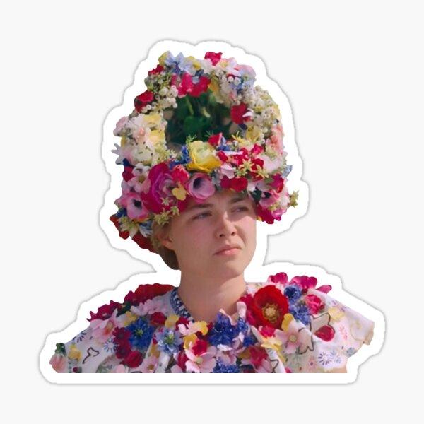 Midsommar - Dani flower dress (2019)  Sticker