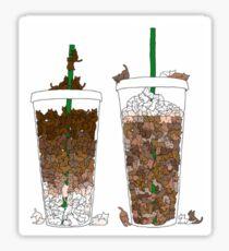 Starbucks Kittens! Sticker